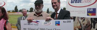 Warrnambool Charity & Pharoah King Win 2008 Great Chase