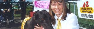 2002 Traralgon Cup Winner Elgrando and Carolyne Jones