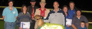 Calleen Whisper Is Temora's Greyhound Of The Year