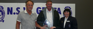 GBOTA Presentation To Miss Elly Mints Connections, Ray Watson (left) and Robert Smith (middle)