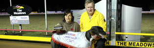 Regal Thyme Named MGRA's Greyhound Of The Year