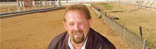 Wagga Greyhound Racing Club Secretary Rod Oakman