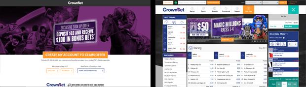 Crownbet Australia bonus bets