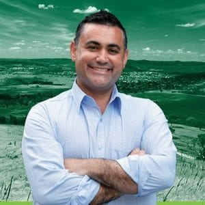 Nationals MP John Barilaro