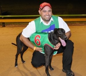 Anthony Azzopardi with Zambora Brockie