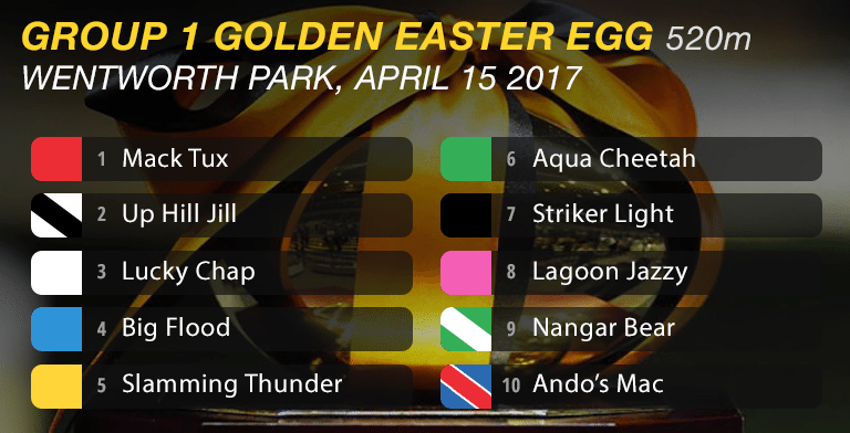 2017 Golden Easter Egg box draw