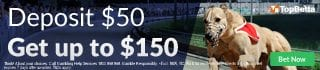 300% deposit bonus up to $150