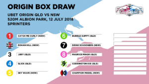Queensland hopes boosted by favourable Origin box draw