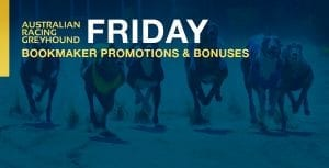 Greyhound betting bookmaker offers for Friday 23rd October 2020